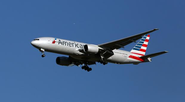 The man was an American Airlines crew member