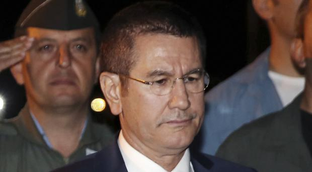 Nurettin Canikli has been named as the new defence minister. (AP)