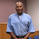 OJ Simpson arrives for his hearing at Lovelock Correctional Center in Nevada yesterday