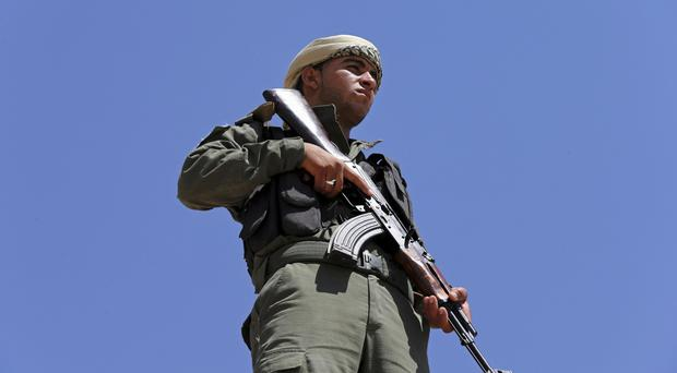 Fighters have come up against stiff opposition from IS militants in Raqqa