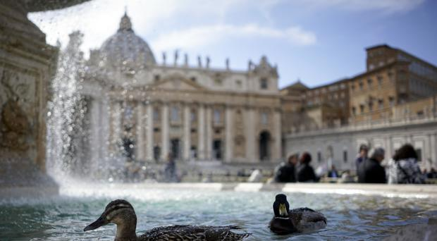 Vatican turns off fountains amid drought in Rome