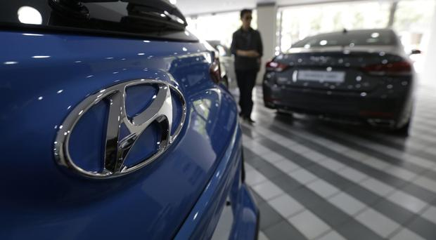 The figures were below expectations for the South Korean car maker (AP)