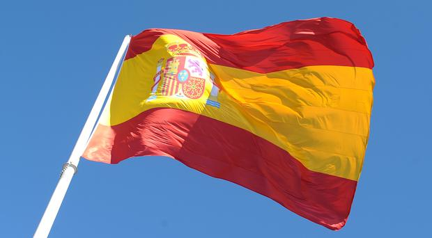 The incident occurred in the town of Puente la Reina, near the city of Pamplona