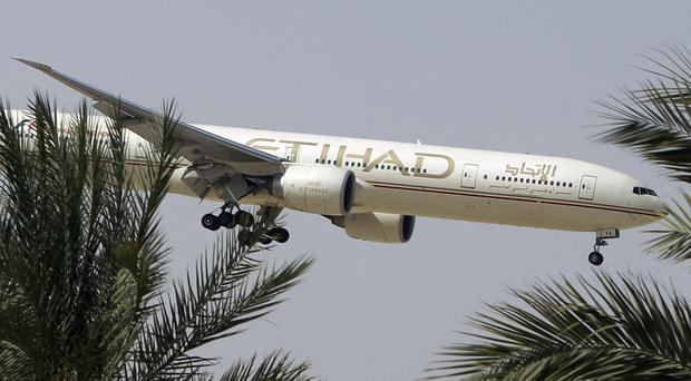 Etihad Airways confirmed its involvement in the probe in a brief statement (Kamran Jebreili/AP)