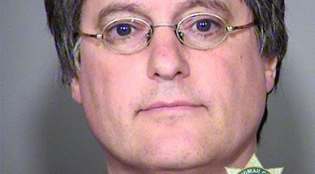 Timothy Matthews is accused of using a fake Great Britain passport. (Multnomah County Sheriff's Office/AP)