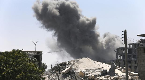 It is the third of four planned ceasefires reached in recent months (Hussein Malla/AP)
