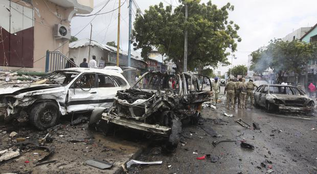 Al-Shabab often carries out deadly bombings in Mogadishu (Farah Abdi Warsameh/AP)