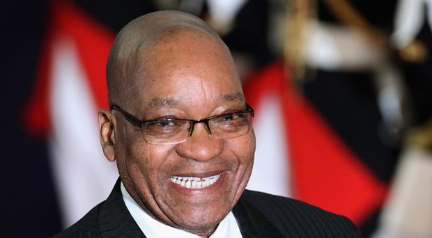 President of South Africa Jacob Zuma faces a no confidence vote.