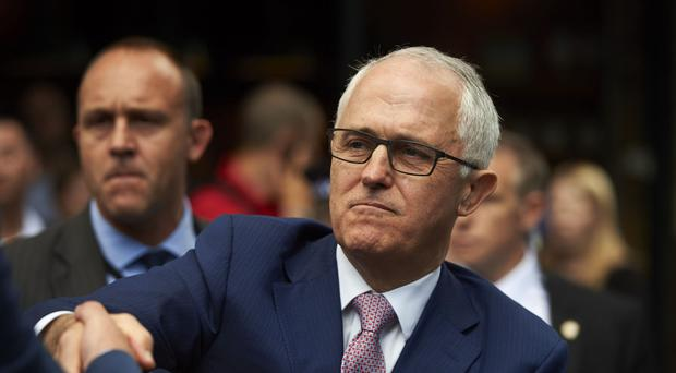 The vote is seen as a test of Prime Minister Malcolm Turnbull's authority