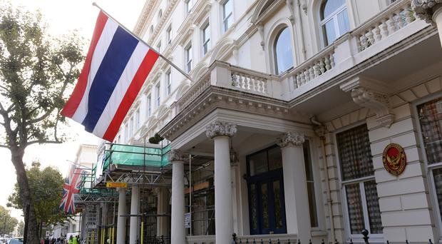 A man has been sentenced to 20 years in prison by a military court in Thailand's latest conviction on charges of insulting the monarchy.