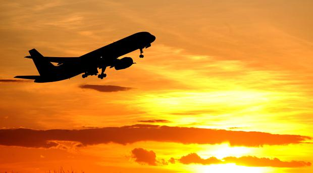 Several pilots complained of having been disturbed by the rays, police said