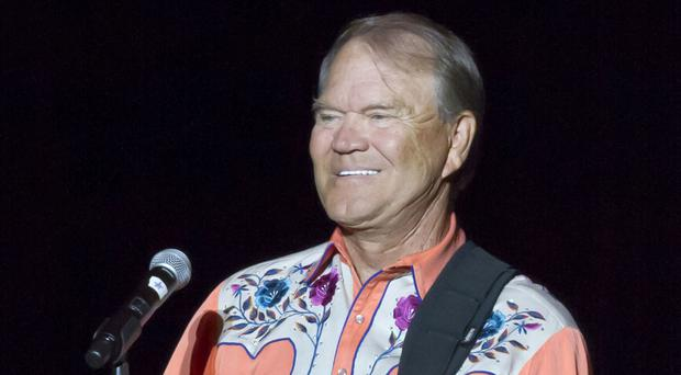 Glen Campbell during his Goodbye Tour in Little Rock, Arkansas, in 2012 (AP)