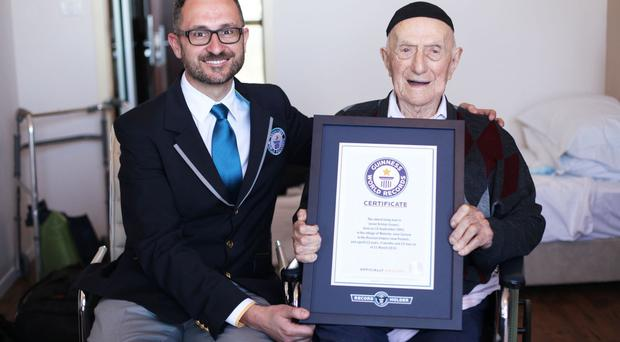 Israel Kristal survived Auschwitz and other concentration camps