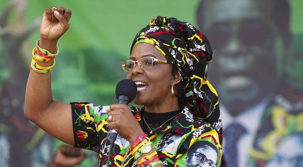 Grace Mugabe was due to appear in court (AP/Tsvangirayi Mukwazhi)