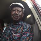 Kenyan opposition leader Raila Odinga claimed the polls were rigged (AP)