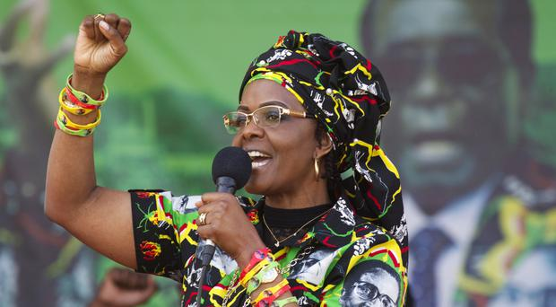 Grace Mugabe hands herself over to police after assaulting SA model