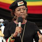 Zimbabwean first lady Grace Mugabe has requested diplomatic immunity (Tsvangirayi Mukwazhi/AP)