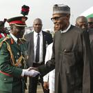 Muhammadu Buhari arrives back in Nigeria (Nigeria State House via AP)