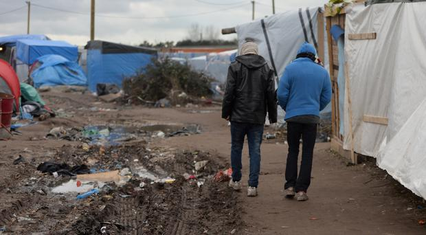 Migrants have been returning to the area after French authorities cleared thousands from a makeshift camp in Calais