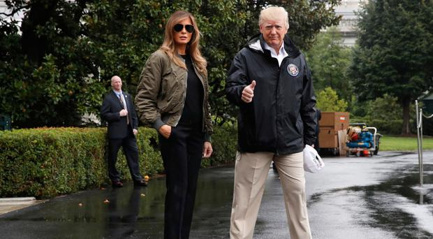 White House says Trump will donate $1 million to Hurricane Harvey relief