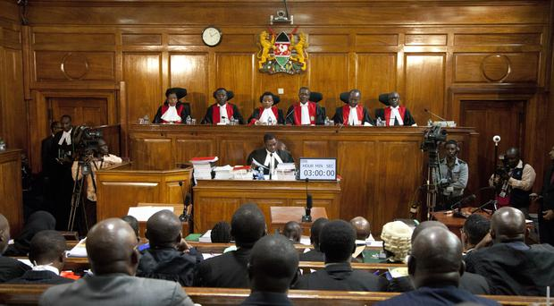 Kenyan Supreme Court judges have delivered their ruling on the election (Sayyid Azim/AP)