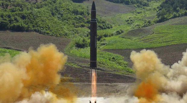 The North Korean government has been testing ballistic missiles