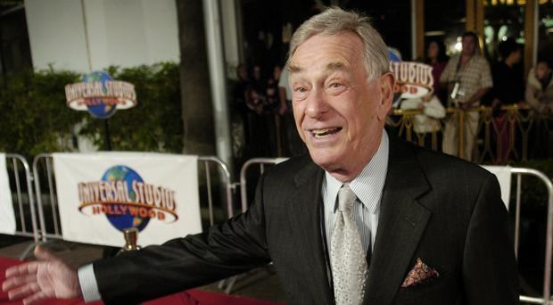 Shelley Berman played Larry David's father in Curb Your Enthusiasm (AP)
