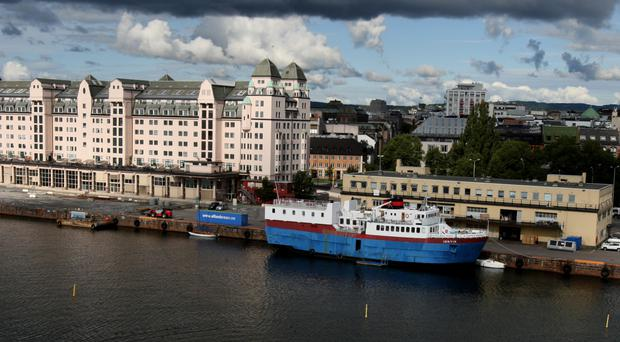 Stock picture of Norway's capital Oslo
