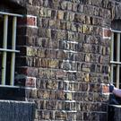 Stock picture of prison windows