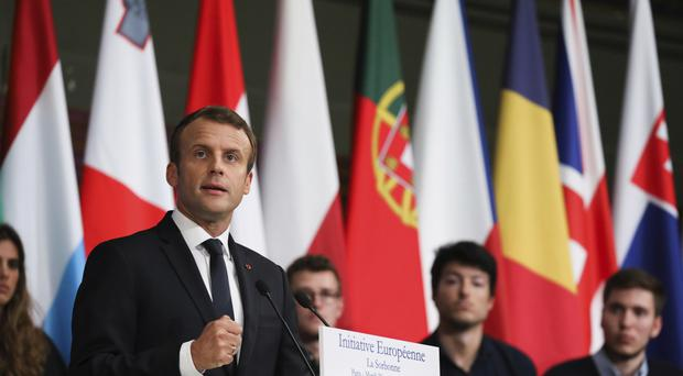 France's Macron Seeks EU Joint Armed Forces