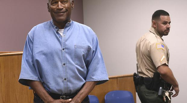 A prisons official said a plan is in place for OJ Simpson to be released to parole as early as Monday (AP)