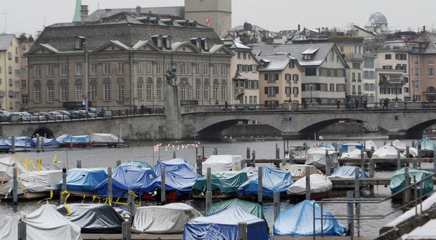 Stock picture of Zurich