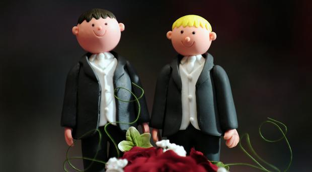 The first same-sex wedding in a church in the UK has gone ahead despite the threat of sanctions against the church body that gave the ceremony the go-ahead