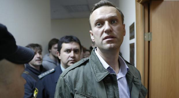 Russian opposition leader Alexei Navalny was jailed by a court in Moscow