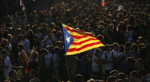 Catalan separatists say they won the October 1 referendum (AP)