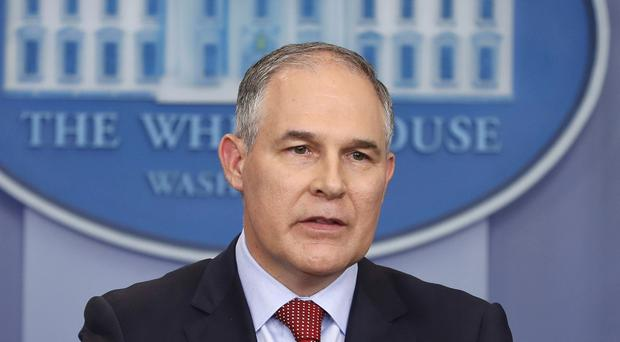 Scott Pruitt announced the new approach (AP)