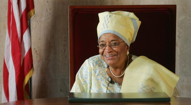 Ellen Johnson Sirleaf has led Liberia's transition from a 14-year civil war that ended in 2003 (AP)