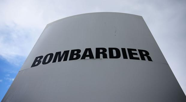 File picture of Bombardier signage