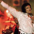 Michael Jackson performs during the Victory Tour (AP)