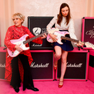 Gloria Hunniford with singer Sophie Ellis-Bextor at The Hard Rock Pinktober Gala Fundraiser in London yesterday