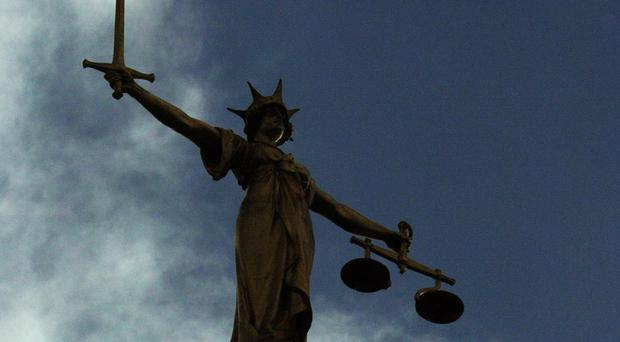 A woman charged with non-payment of a £14 taxi fare threw her shoe at a magistrate after a previous bail refusal, the High Court has heard