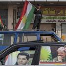 Kurds voted for independence in a controversial but symbolic referendum that Baghdad has so far refused to acknowledge (Bram Janssen/AP)