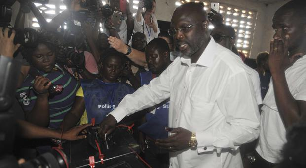 Liberia set for presidential runoff next month