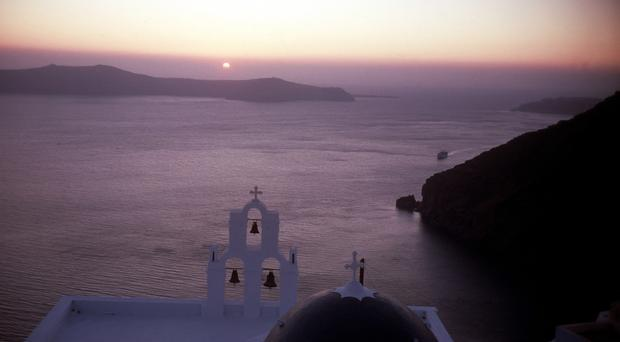 Archive picture of Santorini