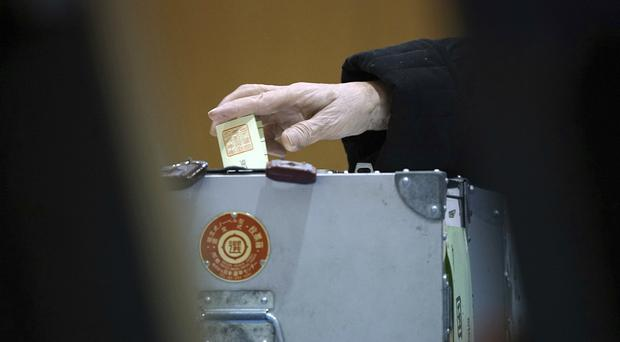 Voting has kicked off for Japan's general election (AP)