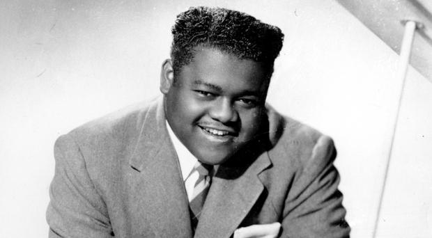 Fats Domino sold more than 110 million records with hits including Blueberry Hill, Ain't That A Shame and other rock 'n' roll standards (AP)