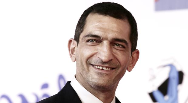 Amr Waked at the first International El Gouna Film Festival in Egypt (AP)