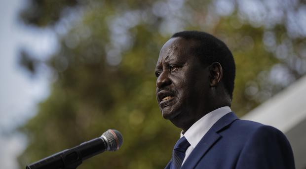 Opposition leader Raila Odinga did not contest the election