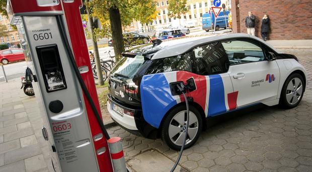Uptake of electric cars across Europe has been patchy so far (dpa/AP)
