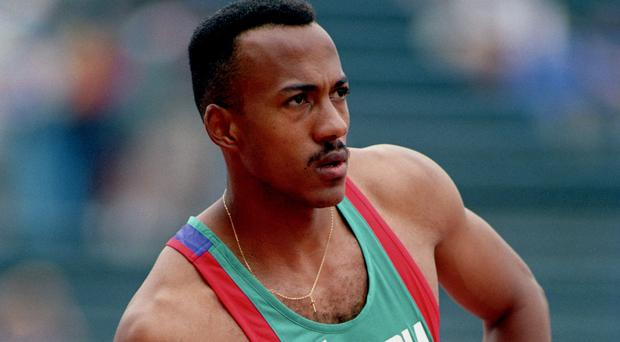 Frankie Fredericks is a member of the International Olympic Committee